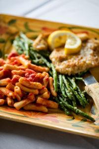 pasta dish at Mario Fazio's
